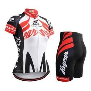 FIXGEAR CS-W1202-SET Women s Cycling Jersey   Padded Shorts MTB BMX ... 7441ef5a5