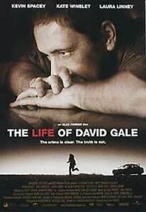 Die Leben Von David Gale (Zweiseitig) Original Filmposter
