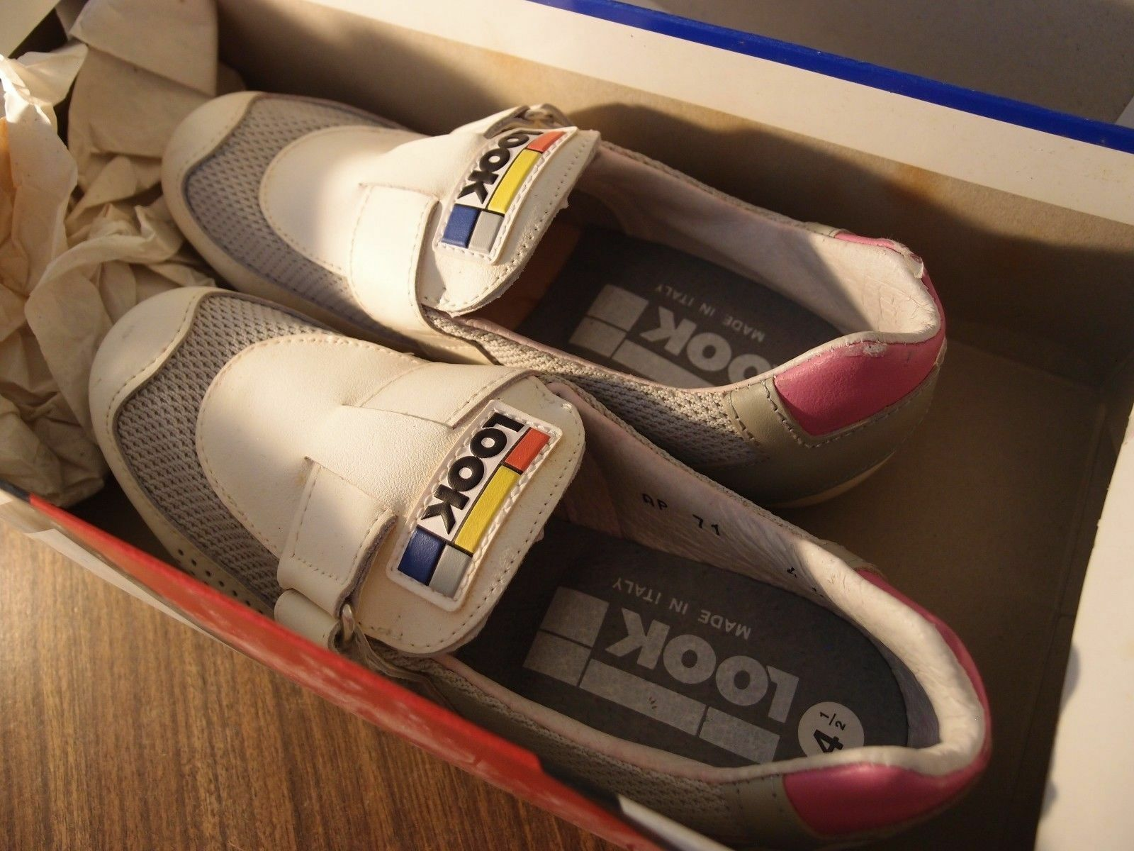 1988 Racing shoes LOOK 4  1 2  made in France 37 size vintage racing l'eroica  quality product