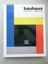 2 Bücher Wright Frank Lloyd + bauhaus .. archiv Magdalena Droste