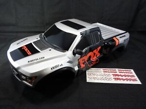 NEW-Traxxas-Slash-Ford-Raptor-1-10-2wd-Fox-Racing-Edition-Painted-Body-Shell