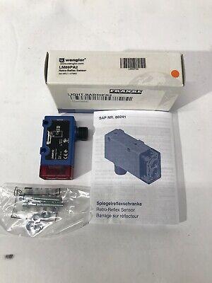 Wenglor Retro-Reflex Sensor LD86PCV3