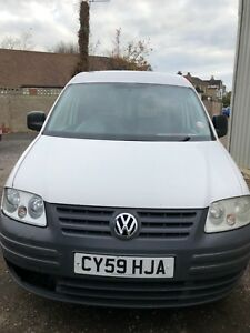 2009 VOLKSWAGEN CADDY C20 TDI 104 PANEL VAN NO VAT
