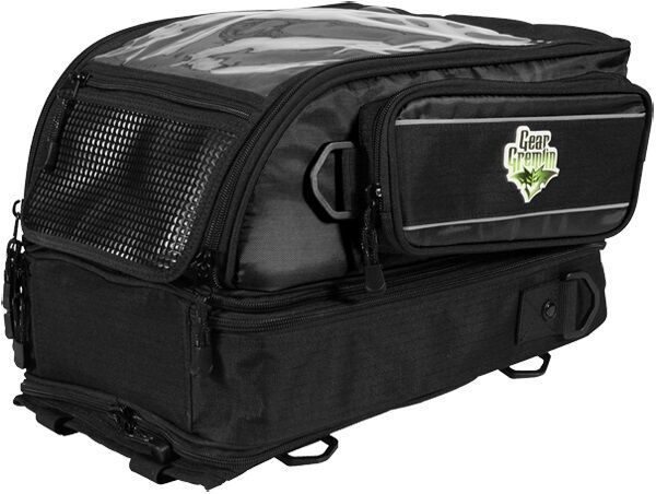 Gear Gremlin 10l Motorcycle 4 In 1 Magnetic Deluxe Tank Bag Backpack New