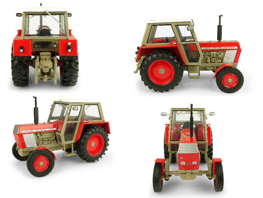Precio al por mayor y calidad confiable. Zetor Crystal 8011 2WD 2WD 2WD Tractor 1 32 Model 5289 UNIVERSAL HOBBIES  grandes precios de descuento
