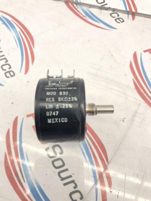 Spectrol Precision Potentiometer Mod 534 Res 100k Lin .25/%