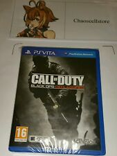 Call Of Duty: Black Ops Declassified New Sealed UK PAL PlayStation Vita PS Vita