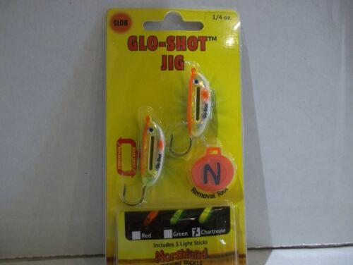 Northland Tackle Glo Shot JIG 1//4 Super Glo Chub NIP