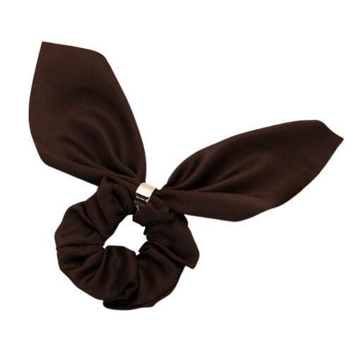 Women/'s Bowknot Hair Elastics Scrunchies Hair Bow Ponytail Holder Bobbles
