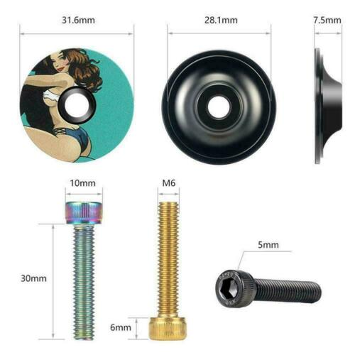 Bicycle Headset Stem Top Cap Cover For MTB Road Bike Cycling Accessories E5V1
