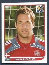 PANINI-SOUTH AFRICA 2010 WORLD CUP- #355-DENMARK & STOKE CITY-THOMAS SORENSEN