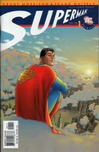 Frank Quitely NEW CLASSIC DC Comics All-Star Superman #1 Grant Morrison