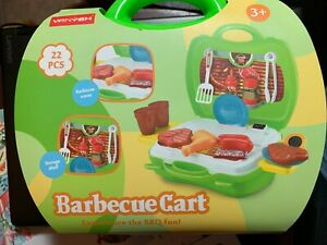 Children-DIY-Play-House-Toy-Role-Play-Set-Kids-Gifts-Kitchen-Barbecue-BBQ-Tools