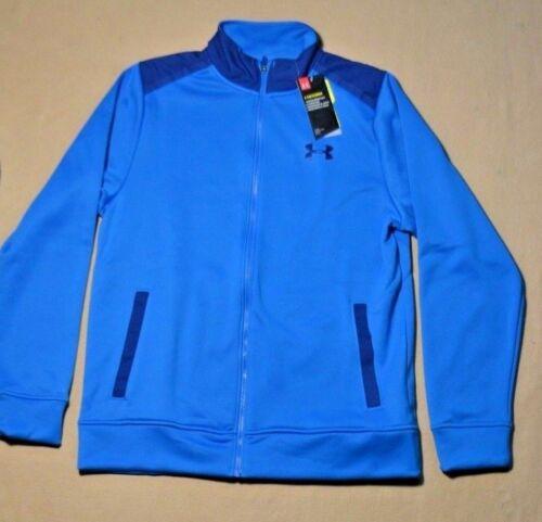 BNWT MEN/'S UNDER ARMOUR BLUE STORM COLDGEAR LOOSE FIT COAT JACKET SZ S-XL
