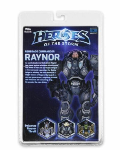 "NECA Heroes Of The Storm Jim Raynor Starcraft Blizzard Warcraft 7/"" Action Figure"