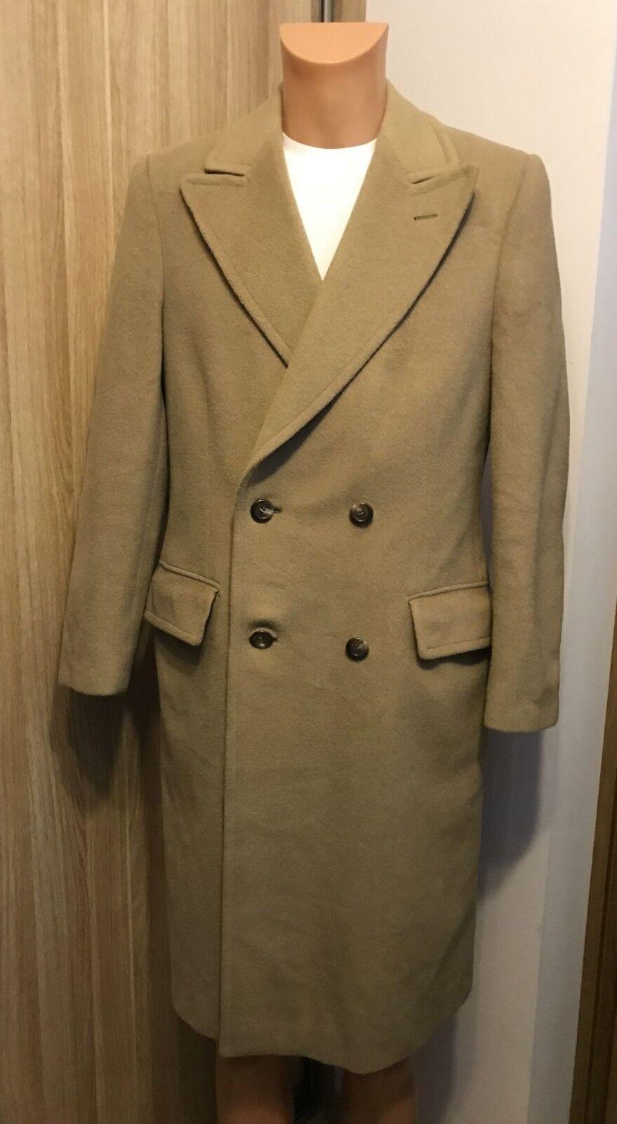 CONGRES elegant   Wool And Cashmere  Men's coat - SIZE   M L   50