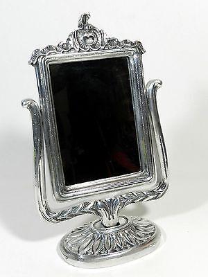 Ornate Pedestal Mirror Vanity Make Up