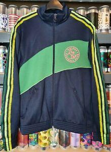 Détails sur Adidas Homme Medium Survêtement Haut Veste Rétro VINTAGE RARE FOOTBALL CLUB #10 afficher le titre d'origine