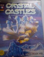 Crystal Castles Spectrum 48k (TAPE) (Game, imballaggio, Manual)