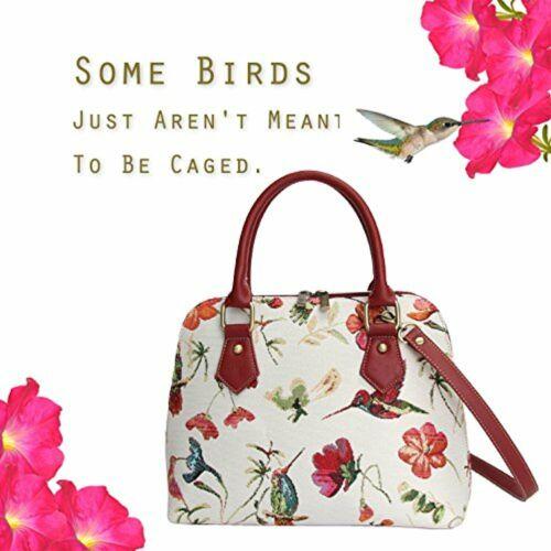 SIGNARE Convertible Tapisserie Toile Humming Bird Women/'s Ladies Fashion Sac à main