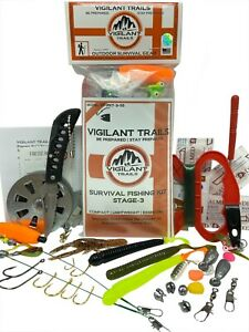 Vigilant Trails Pre-Packed Survival Fishing Kit Stage 3
