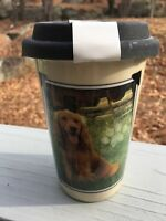 Cocker Spaniel Ceramic Travel Mug With Lid