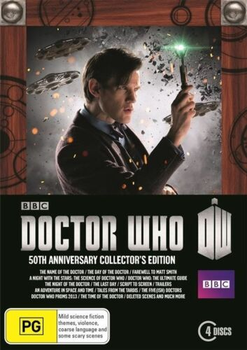 1 of 1 - Doctor Who: The 50TH Anniversary Collector's Edition [Region 4] - DVDx4