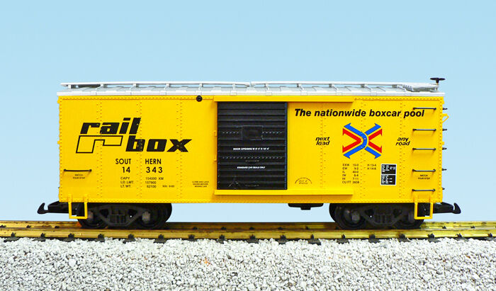 USA Trains G Scale R19099 RailBox (Southern) Box Car CHOICE #'s NEW RELEASE