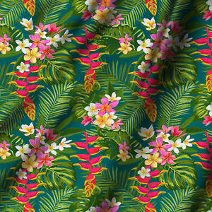 Quilting-Floral-Printed-Cotton-Fabric-By-Yard-44-034-Wide-Creativity-Crafts-amp-Decor