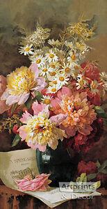 Spring-Song-by-Paul-de-Longpre-Art-Print-of-Vintage-Art