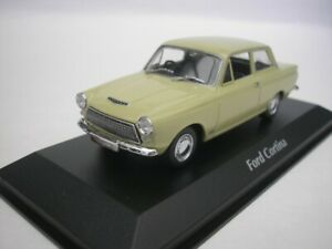Ford-Cortina-Mk-I-1962-Green-1-43-maxichamps-940082001-New