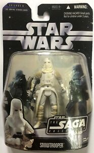 STAR WARS The Saga Collection BATTLE OF HOTH SNOWTROOPER ACTION FIGURE 2006