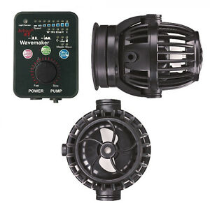 Jebao RW-15 PP15 Wavemaker with Magnet Mount Controller for Reef Coral Tank