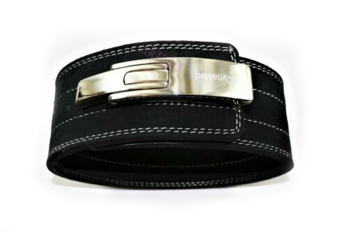 SMALL PREMIUM TRAINING WEIGHT LIFTING BELT W// LEVER BUCKLE LONG LAST HEAVY DUTY