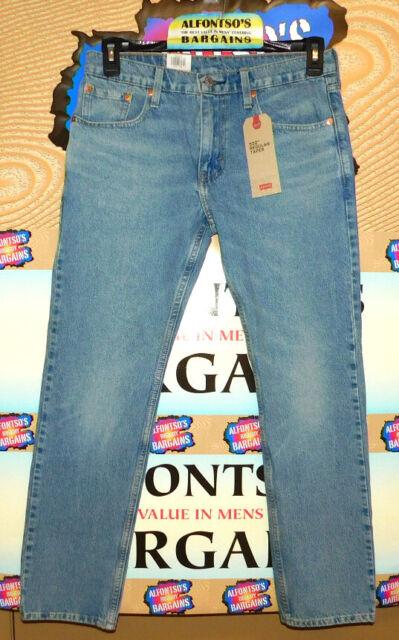 "NWT Levi/'s Men/'s 502 Regular Tapered Leg Stretch Jeans Blue Stone Size 32""x34"""