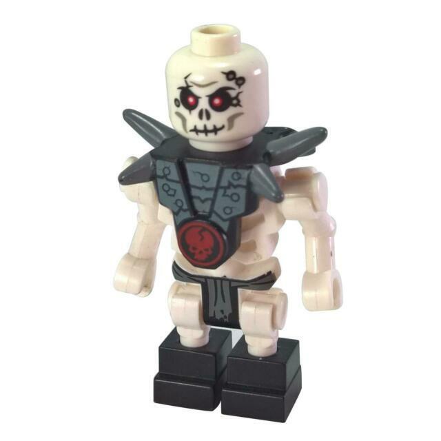 LEGO Ninjago Chopov w Gray Armor Skeleton Minifigure 2114 njo021