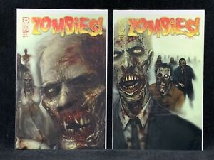 Zombies-Feast-IDW-Comics-Issues-No-1-4-Lot-Walking-Dead-Limited-Marvel