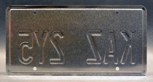 SupernaturalKAZ 2Y5 /& CNK 80Q3STAMPED Replica Prop License Plate Combo
