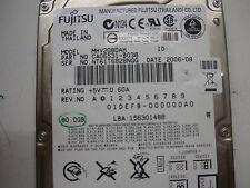 """Fujitsu 80gb MHV2080AH CA21332-B44X 2,5"""" IDE"""