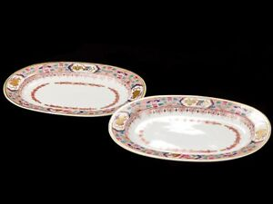 c1800-Pair-of-Chinese-Style-Early-Spode-Serving-Dishes