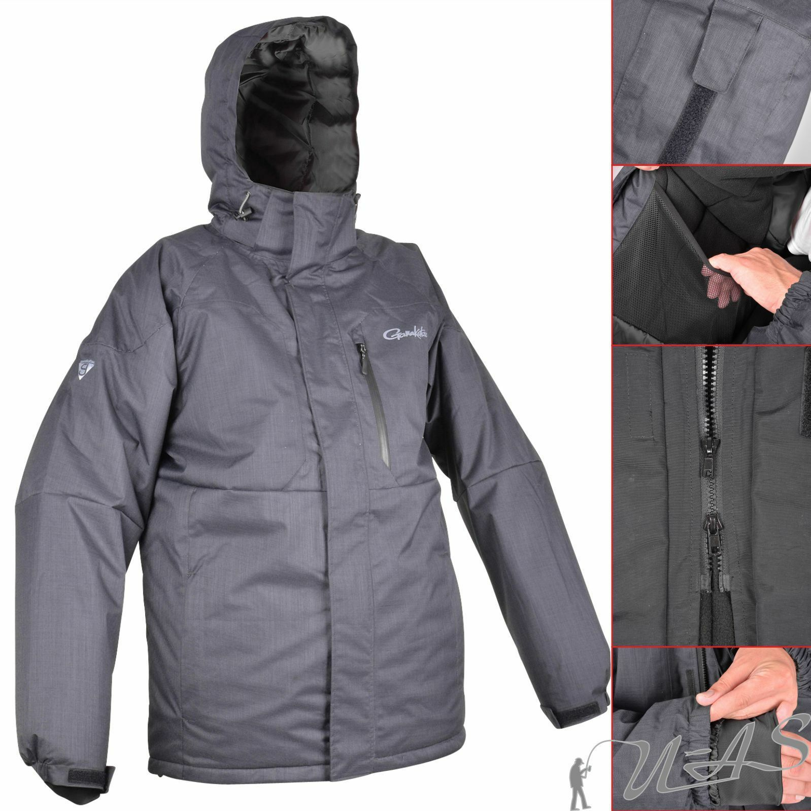 Gamakatsu Thermal Jacket Jacke Gr L Zu Thermoanzug Thermal Suits Angel Anzug Sha