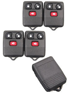 5x-Keyless-Entry-Remote-Control-Key-Fob-Clicker-Transmitter-Replacement-For-Ford