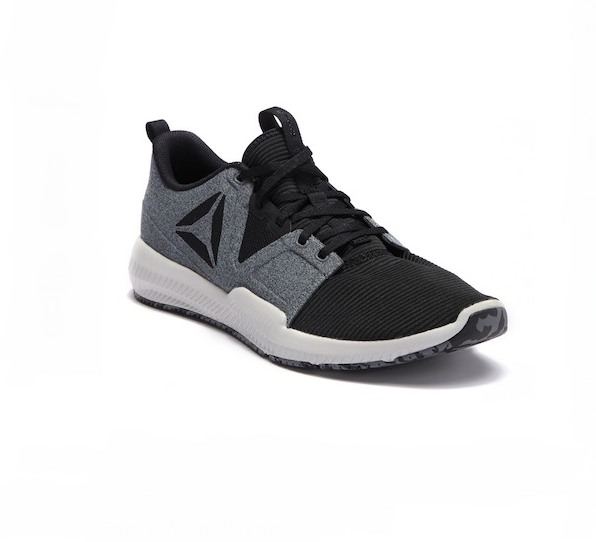 c8159c8faf69 Reebok Size 9 Hydrorush TR Gray Black Athletic Training SNEAKERS Mens Shoes