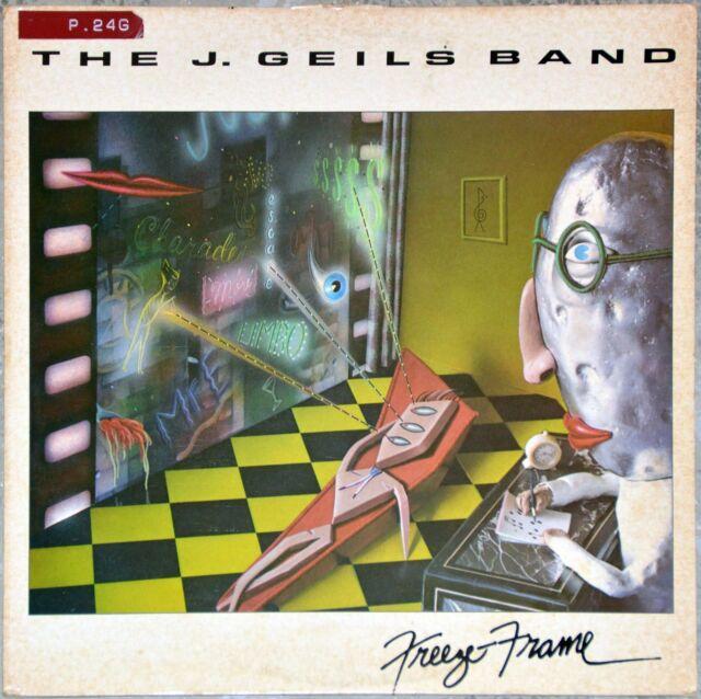 33t The J. Geils Band - Freeze Frame (LP)