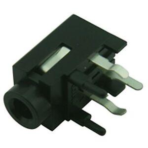 Profesional Pcb 3.5 mm jack socket Estéreo Horizontal  </span>