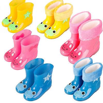 KIDS CHILDREN WELLINGTON BOOTS WELLIES RAINY BOOTS UK size 7-8 /EU 24-25
