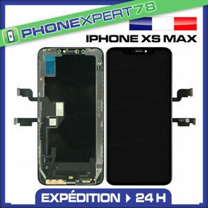 ECRAN LCD + VITRE TACTILE ASSEMBLÉ SUR CHASSIS POUR IPHONE XS MAX