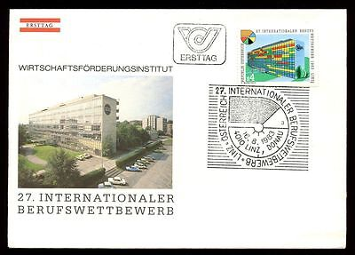 Europe Rational Austria 1983 Young Skilled Workers Competition Fdc Cover #c9610 2019 Official