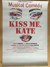KISS ME, KATE 2016 TOUR - orig.Concert Poster - Konzert Plakat  NEU