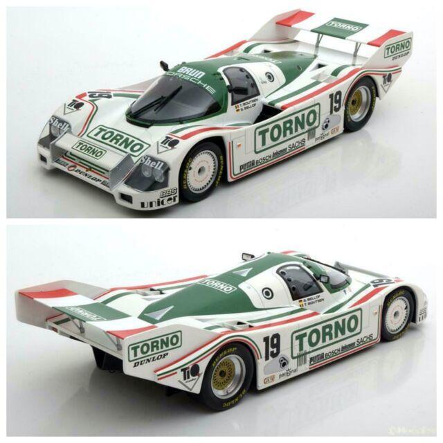 1/18 NOREV Porsche 962 C 1000km Of Mugello 1985 N° 19 New Free Shipping Home